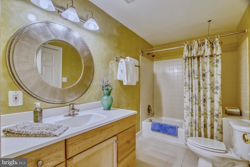 Basement Bedroom En Suite Bath - 1269 COBBLE POND WAY, VIENNA