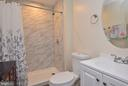Lower Level Full Bathroom - 43341 CEDAR POND PL, CHANTILLY