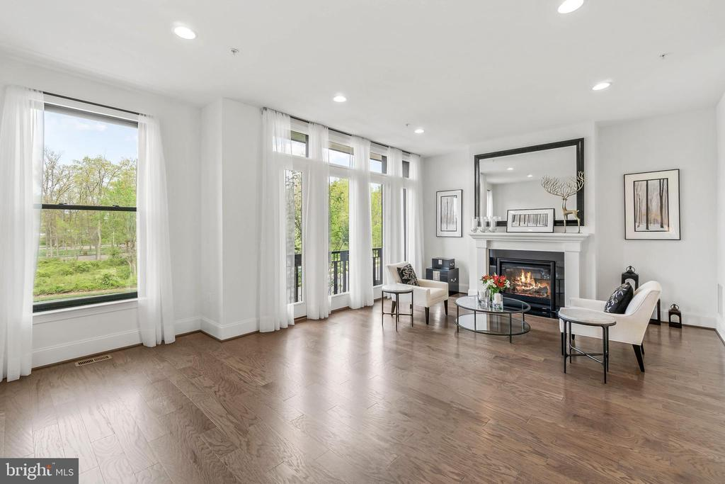 Juliet Balcony to enjoy the views of Central Park - 20382 NORTHPARK DR, ASHBURN