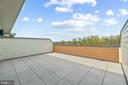 Terrace offers wonderful space to watch the sunset - 20382 NORTHPARK DR, ASHBURN