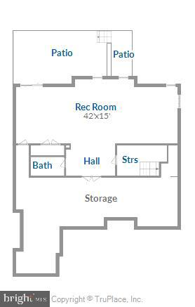 Lower Level Walk Out Floor Plan - 18349 MID OCEAN PL, LEESBURG