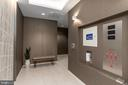 Private lobby for just 2 residences - 16 BAKERS WALK #104, ALEXANDRIA