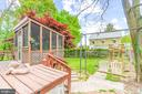 Back Yard - 19315 LIBERTY MILL RD, GERMANTOWN