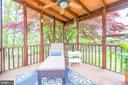 Screened in Back Porch - 19315 LIBERTY MILL RD, GERMANTOWN