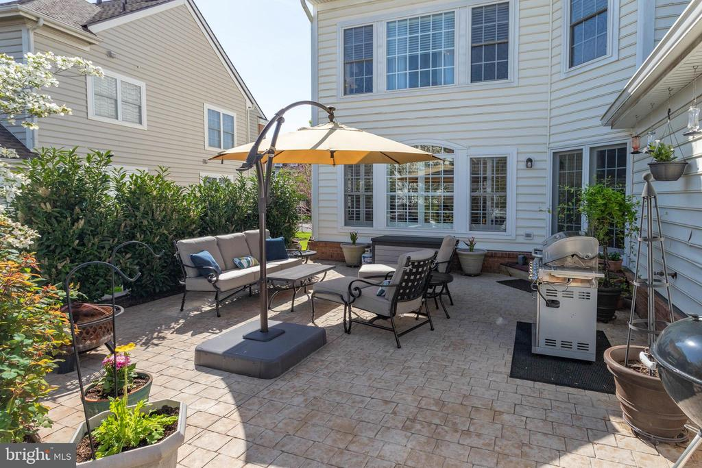 This is your own private outdoor oasis - 42624 LEGACY PARK DR, BRAMBLETON