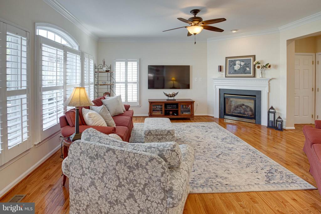 The Beautiful Family Room - 42624 LEGACY PARK DR, BRAMBLETON