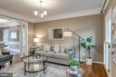 Large Formal or Casual Living Room - 47788 SAULTY DR, STERLING