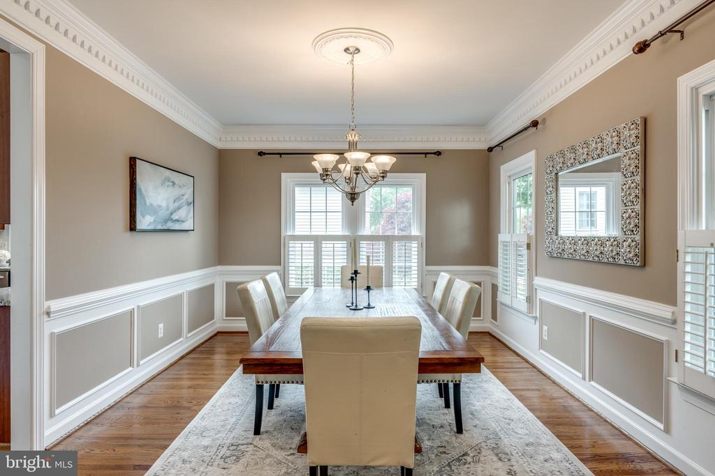 Large Formal Dining Rm for your next Holiday - 47788 SAULTY DR, STERLING