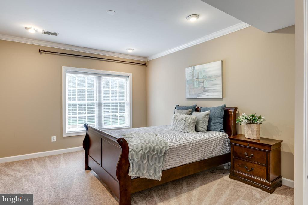 Lower level full 5th bedroom - 47788 SAULTY DR, STERLING