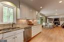 Cameo Kitchen leads to Family Room - 6305 BLACKBURN FORD DR, FAIRFAX STATION
