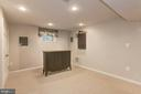 Rec Room in Finished Lower Level - 6305 BLACKBURN FORD DR, FAIRFAX STATION
