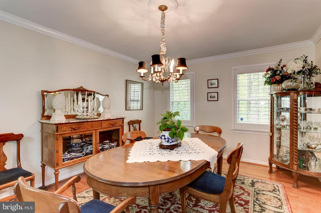 Dining Room - 6305 BLACKBURN FORD DR, FAIRFAX STATION