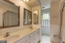 Updated Hall Bathroom - 6305 BLACKBURN FORD DR, FAIRFAX STATION