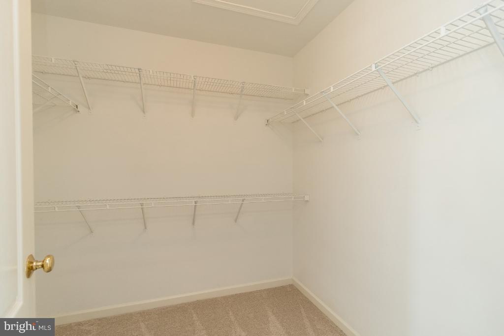 Main Suite Closet 2 - 25466 GIMBEL DR, CHANTILLY