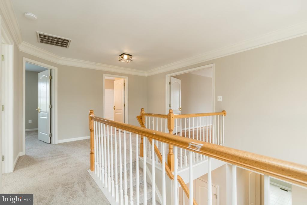 Upstairs Foyer - 25466 GIMBEL DR, CHANTILLY