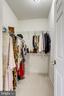 Walk in closet - 22339 DOLOMITE HILLS DR, ASHBURN