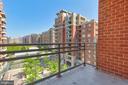 Views from balcony - 3600 S GLEBE RD #622W, ARLINGTON