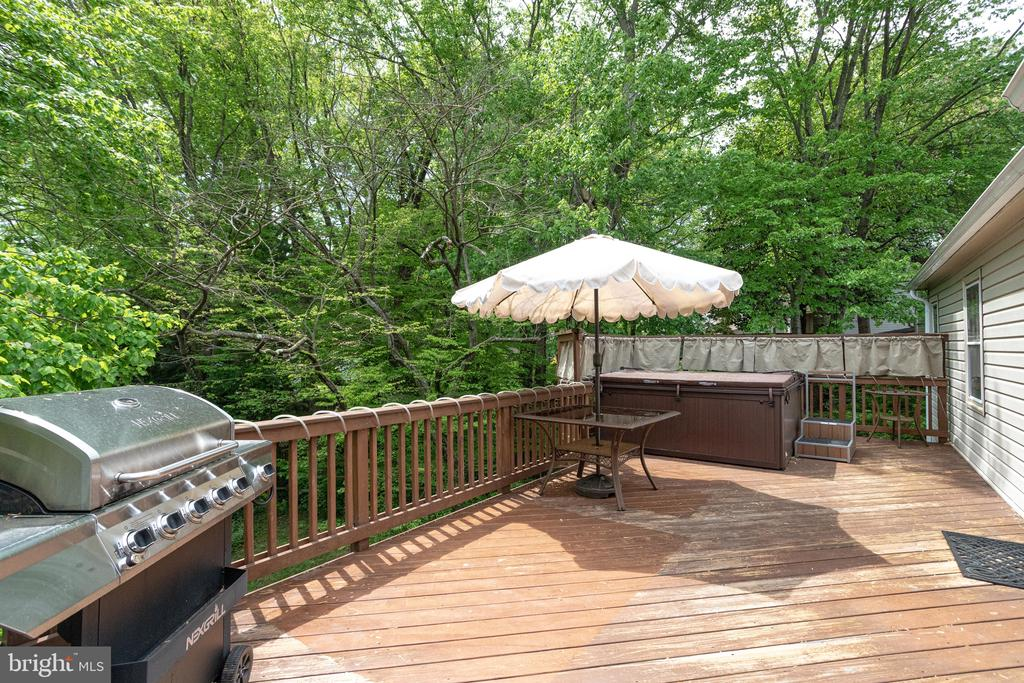 Grill, eat or soak in the hot tub! - 7305 LANGSFORD CT, SPRINGFIELD