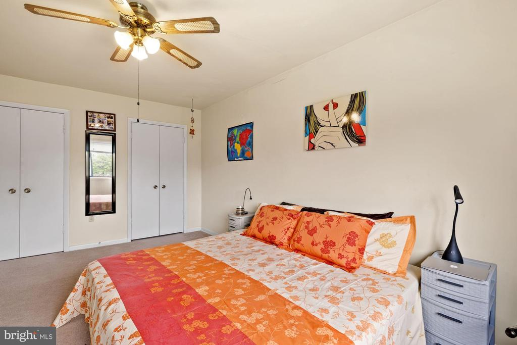 Owner's Bedroom with Double Closets - 11507 AMHERST AVE #102, SILVER SPRING