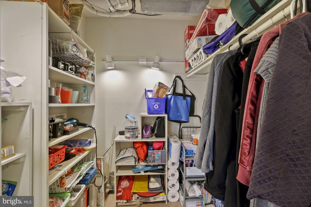 Large Walk-In Closet/Pantry - 11507 AMHERST AVE #102, SILVER SPRING