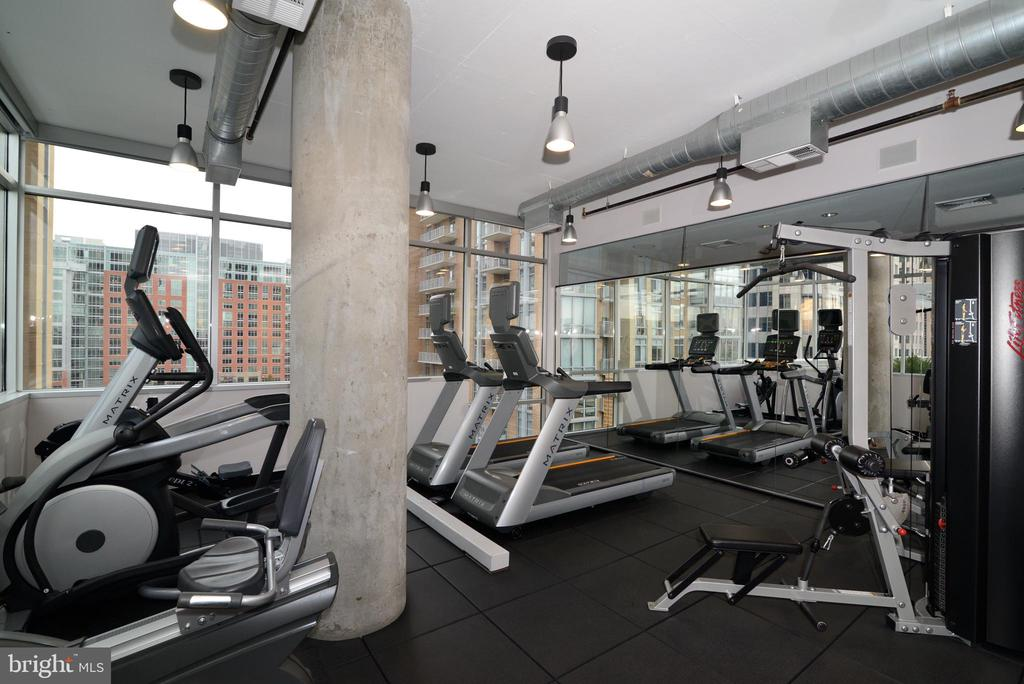 Workout to the scenic views of Reston Town Center - 12025 NEW DOMINION PKWY #311, RESTON