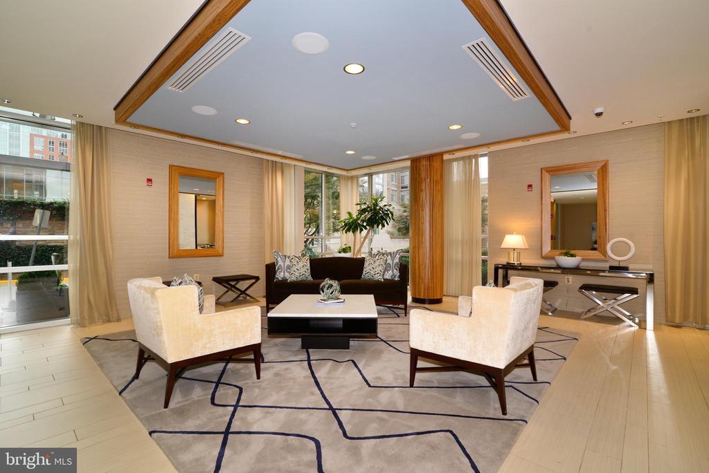 Beautiful front lobby - 12025 NEW DOMINION PKWY #311, RESTON