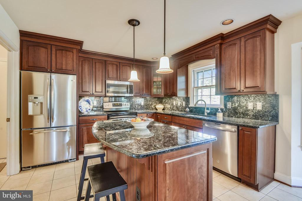 Renovated kitchen with stainless, 42
