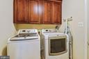 Main level washer/dryer - 11949 GREY SQUIRREL LN, RESTON