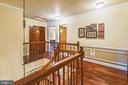 Gorgeous hickory flooring upstairs - 11949 GREY SQUIRREL LN, RESTON
