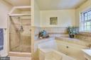 Luxury primary bath - 11949 GREY SQUIRREL LN, RESTON