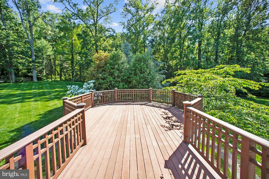 Private Deck - 7301 DULANY DR, MCLEAN