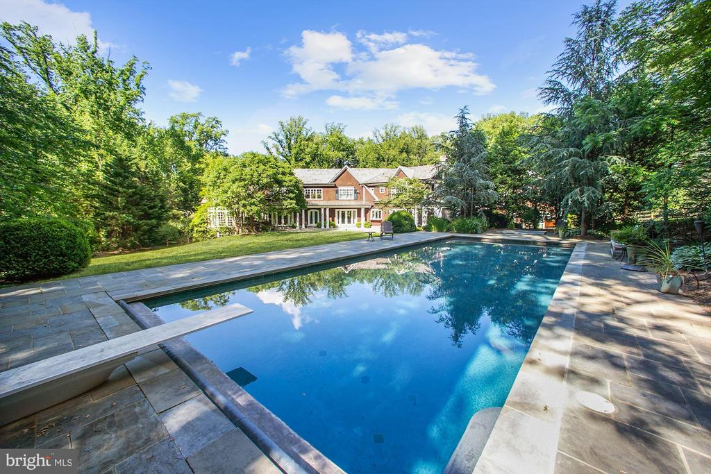 Pool - 7301 DULANY DR, MCLEAN