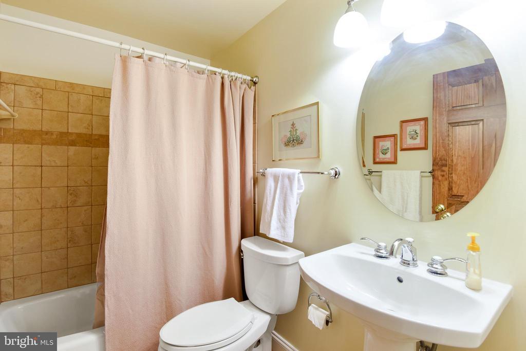 Full bath in lower level, rarely used! - 11949 GREY SQUIRREL LN, RESTON