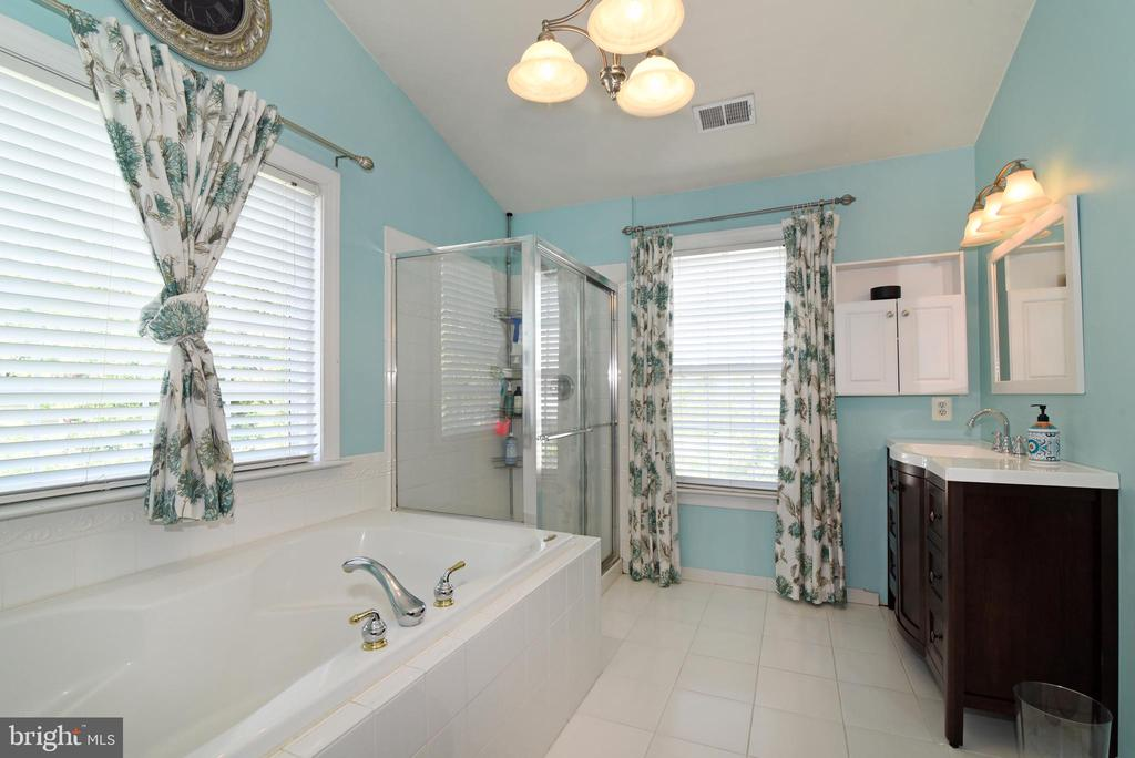 Huge soaking tub - 43298 HEATHER LEIGH CT, ASHBURN
