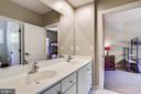 Jack and Jill Bathroom, Double Sinks - 43690 MINK MEADOWS ST, CHANTILLY