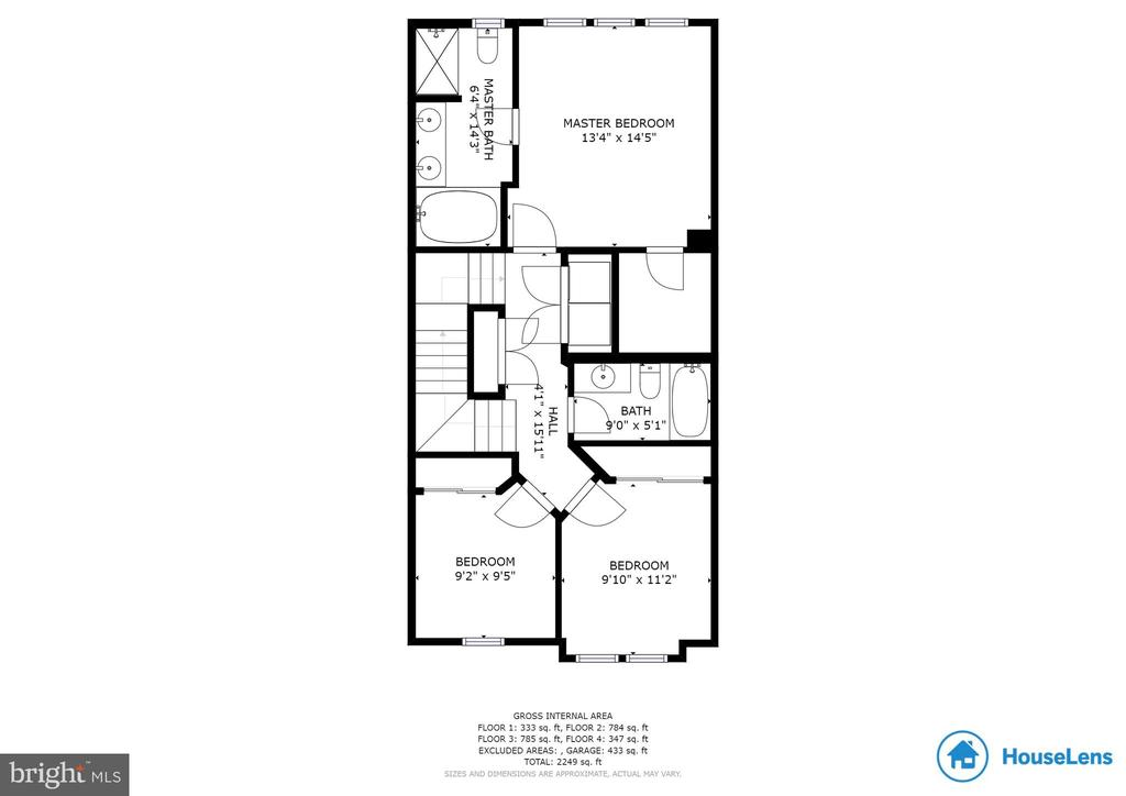 Main Level Floor Plan - 2058 ALDER LN, DUMFRIES