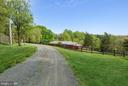 Driveway to the house - 39895 THOMAS MILL RD, LEESBURG
