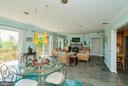 Living room with splendid views - 39895 THOMAS MILL RD, LEESBURG