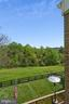 View from balcony - 39895 THOMAS MILL RD, LEESBURG