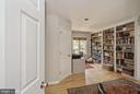 Entering the main bedroom area to the library - 39895 THOMAS MILL RD, LEESBURG