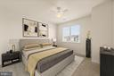 3rd large bedroom upper level with en suite - 43575 WILD INDIGO TER, LEESBURG