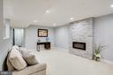 Entertainment area/basement - 16942 FREDERICK RD, MOUNT AIRY