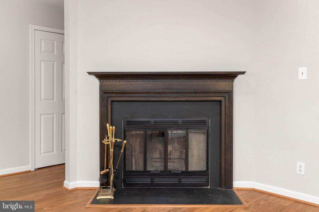 Wood burning Fireplace - 12522 KEMPSTON LN, WOODBRIDGE