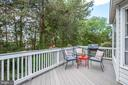 Enjoy morning coffee on your private upper deck - 109 COPPER CT, STERLING