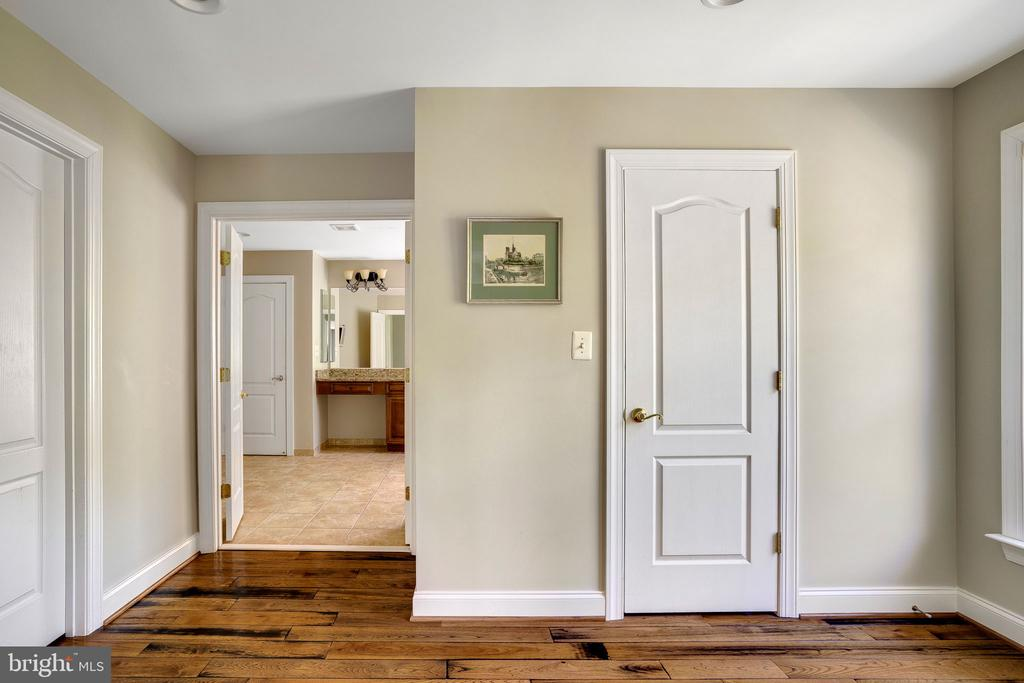 Dual walk-in closets with custom organizers - 43768 RIVERPOINT DR, LEESBURG