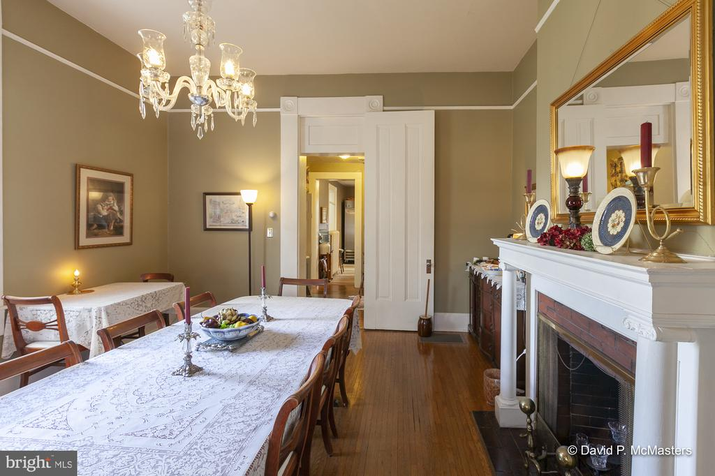 Lots of space . Wood floors through out most rooms - 417 E WASHINGTON ST, CHARLES TOWN