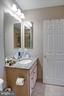 Upgraded hall full bath - 24960 ASHGARTEN DR, CHANTILLY
