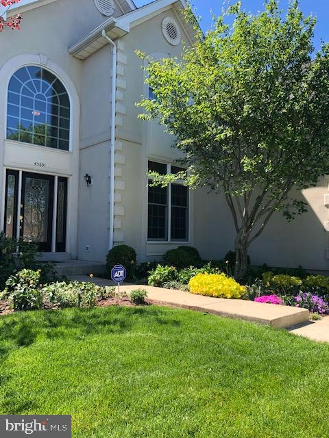 Professional Landscaping Around Entire House - 43691 FROST CT, ASHBURN
