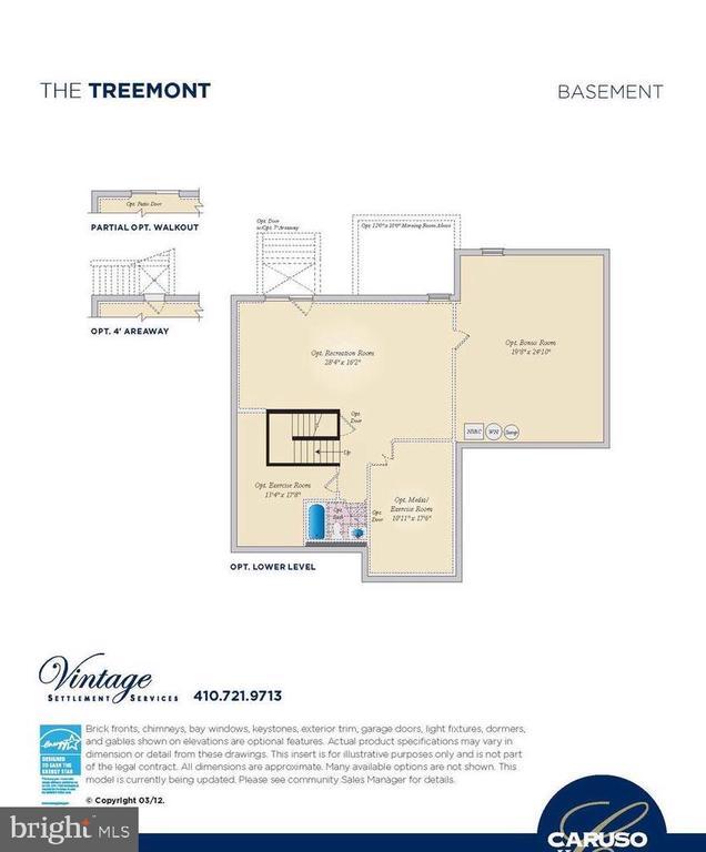 Basement Floor Plan - 530 WATERSVILLE RD, MOUNT AIRY