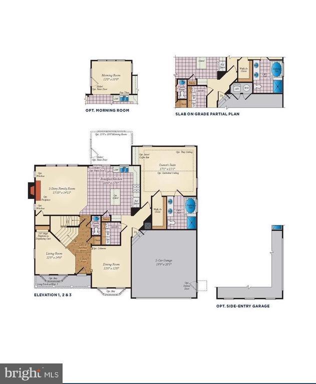 Main Level Floor Plan - 530 WATERSVILLE RD, MOUNT AIRY